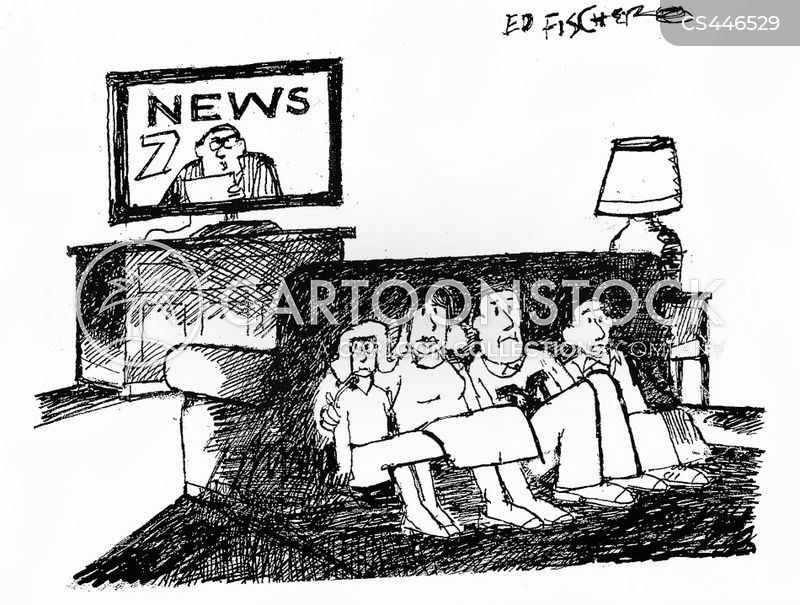 broadcasts cartoon