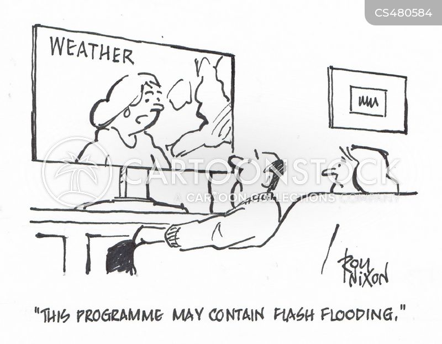 weather warnings cartoon