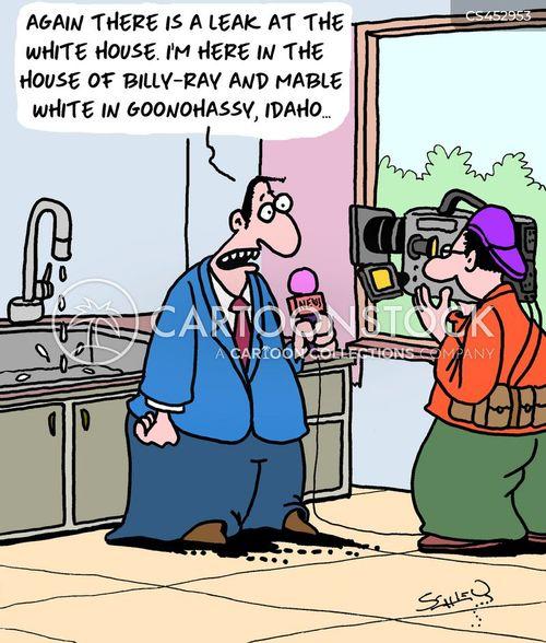 leaker cartoon