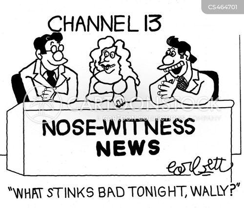 eye witnesses cartoon