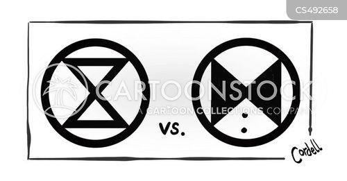 environmental protests cartoon