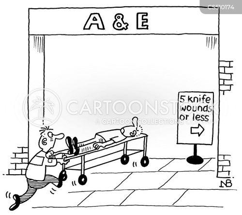 a & e cartoon