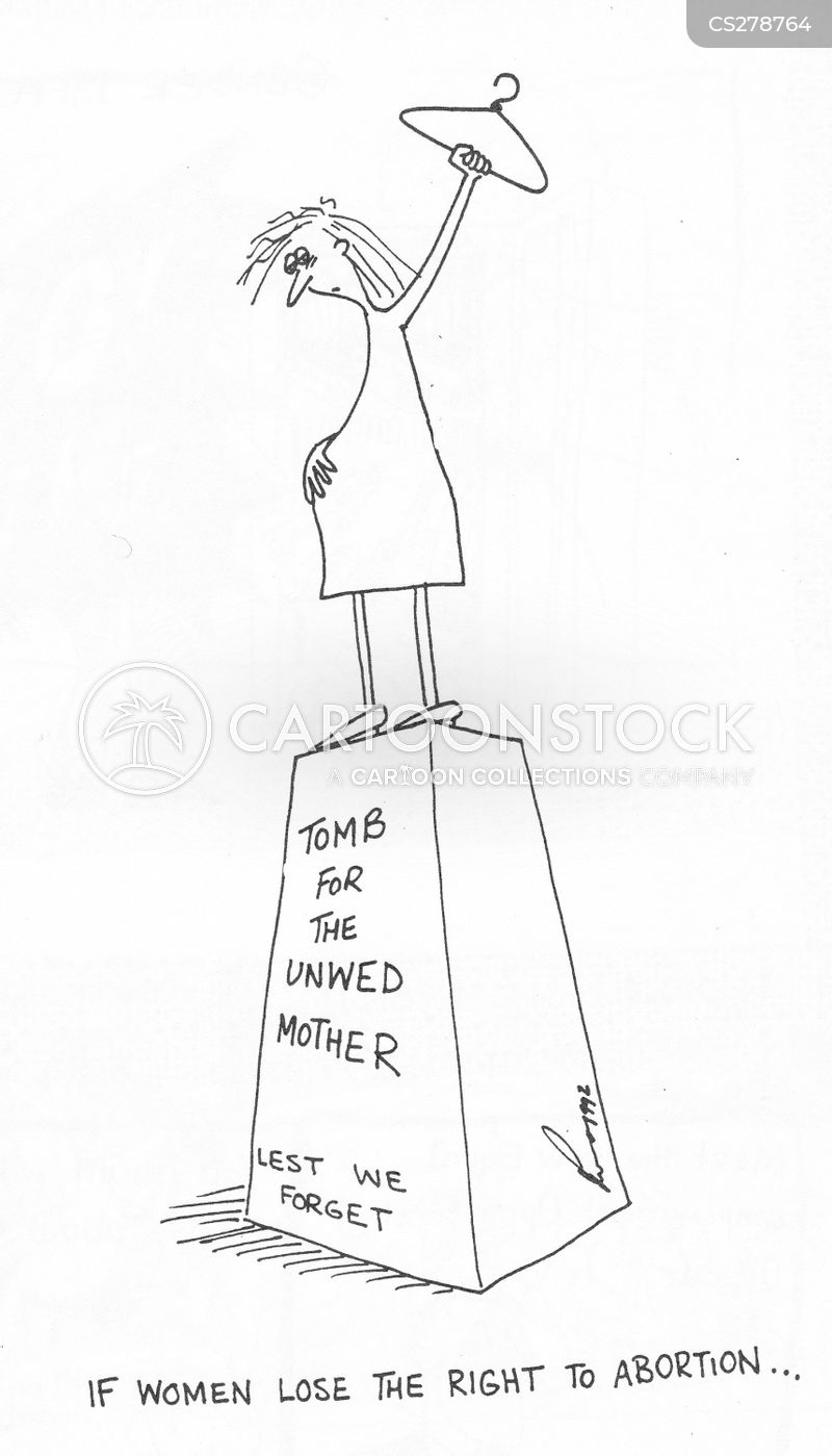 unwed mothers cartoon