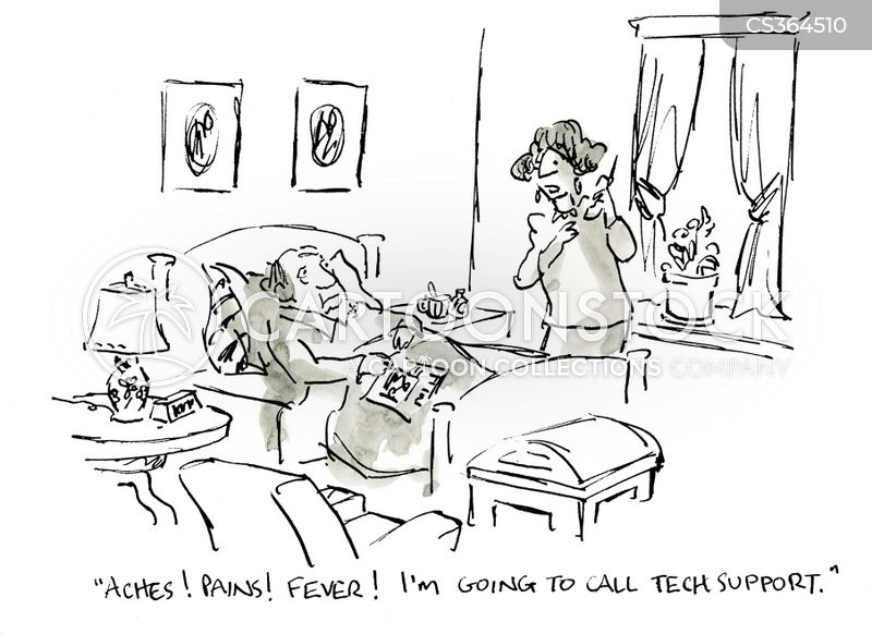 feverish cartoon