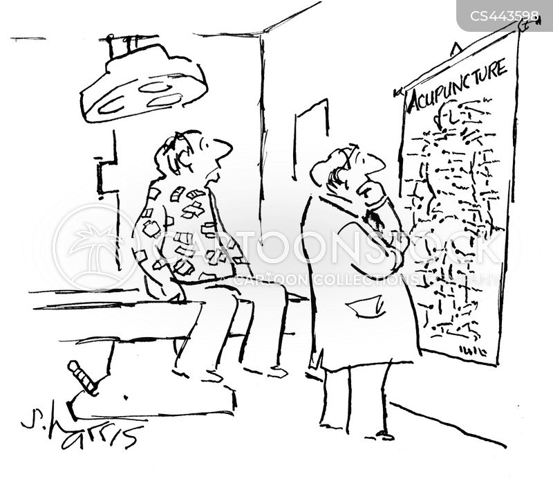 chinese medicine cartoon