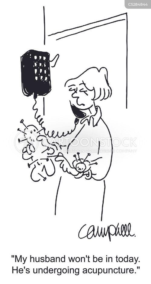 alternative treatment cartoon