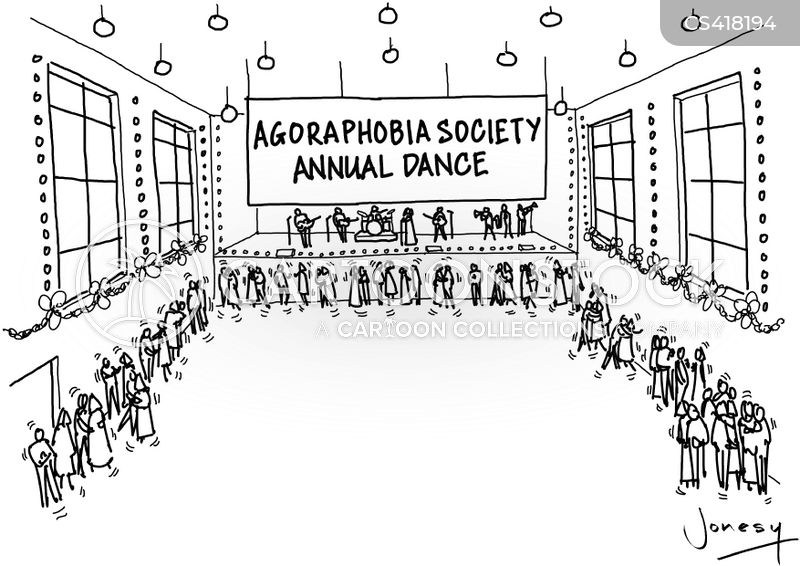 agoraphobics cartoon