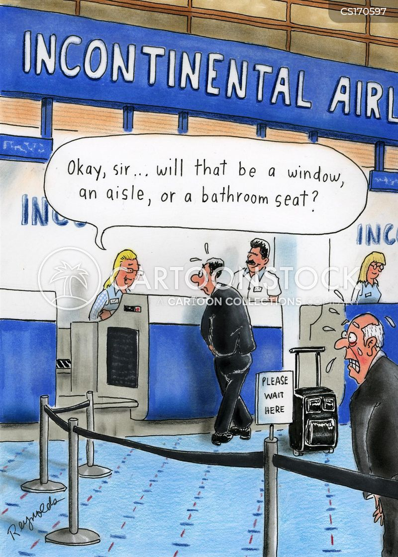 incontinent cartoon