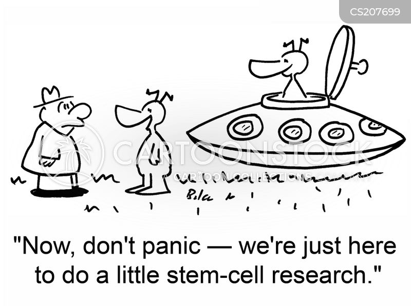 stem cells cartoon