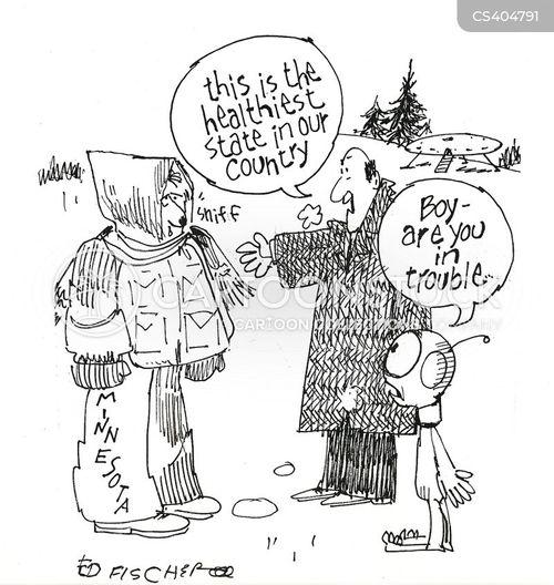 sniffles cartoon