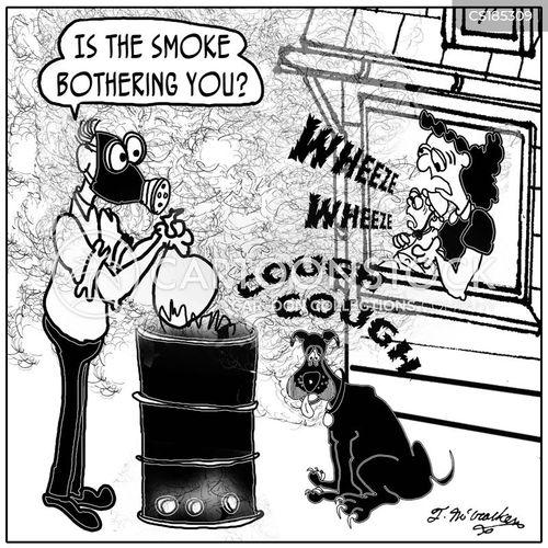 gas masks cartoon
