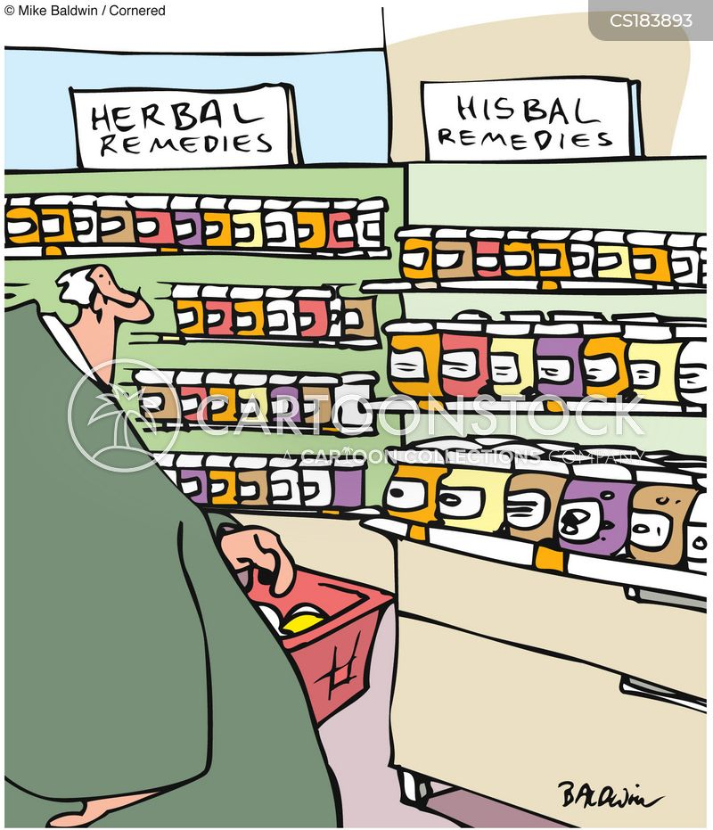 herbal cartoon