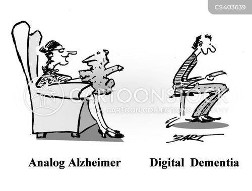 analog cartoon