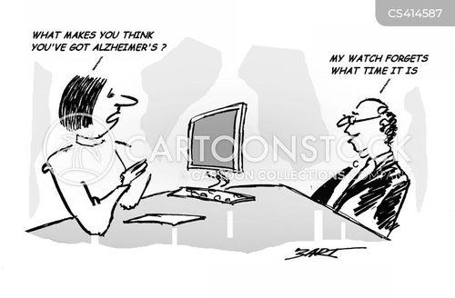 senior moments cartoon