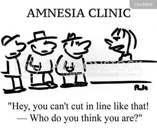 memory clinics cartoon