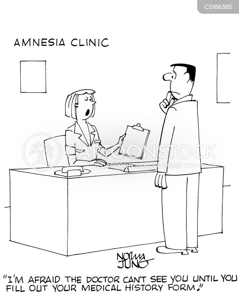 medical records cartoon