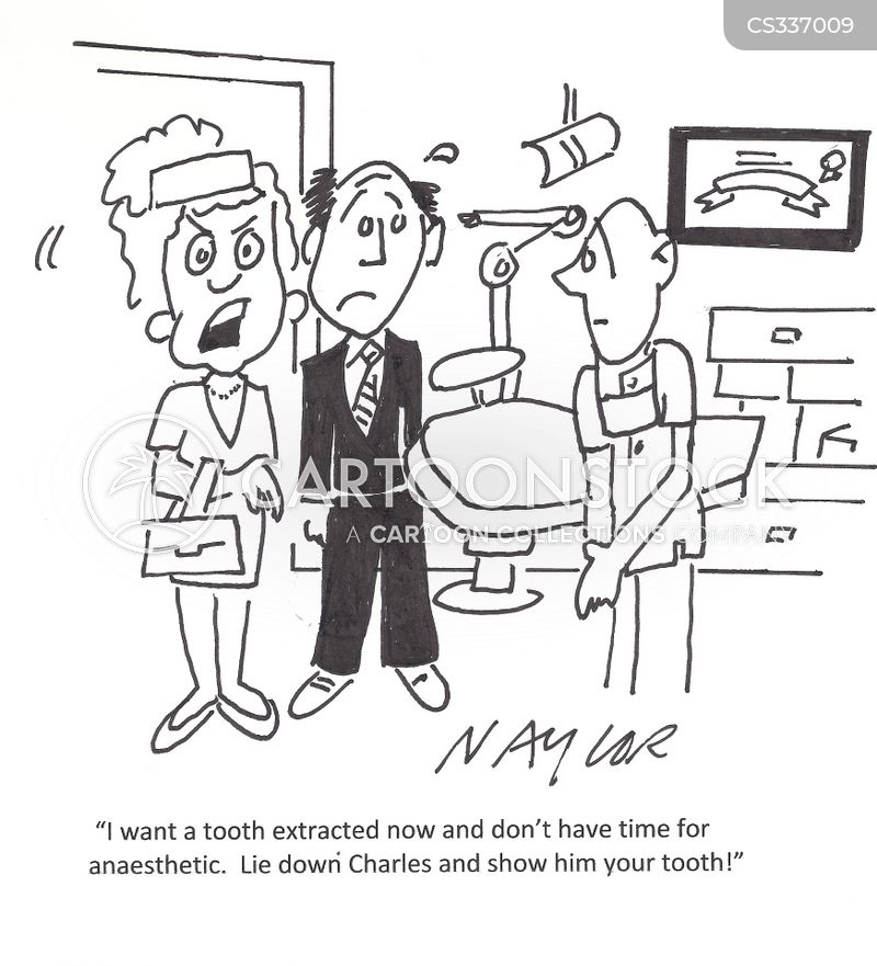 anesthetics cartoon