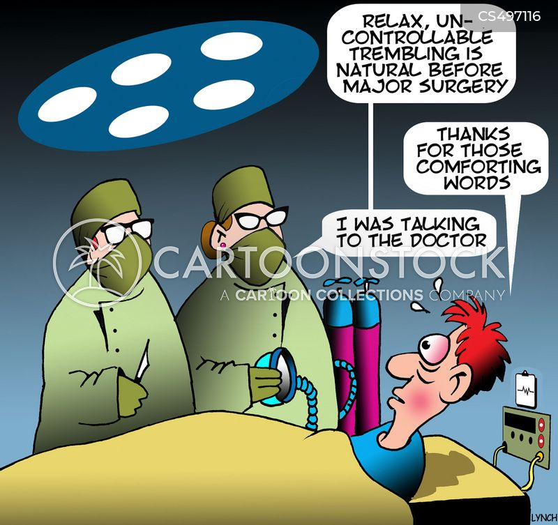 anesthetist cartoon