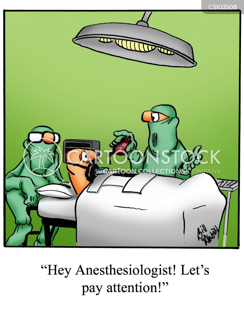 anaesthesiologist cartoon