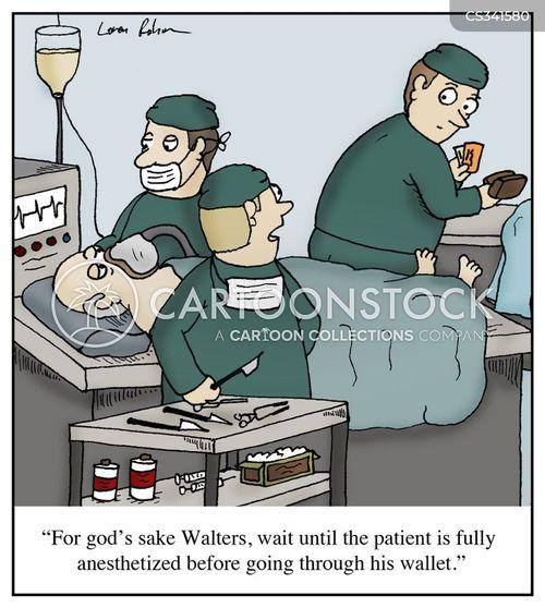 anesthesiologist cartoon