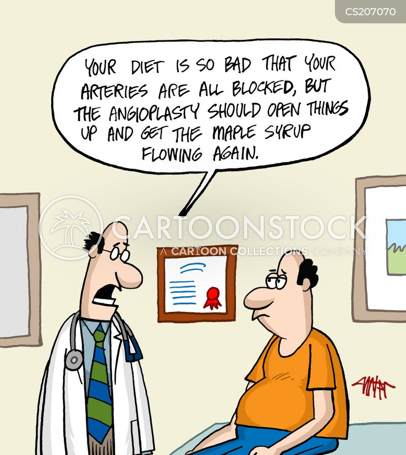 bad diets cartoon