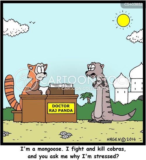 cobras cartoon