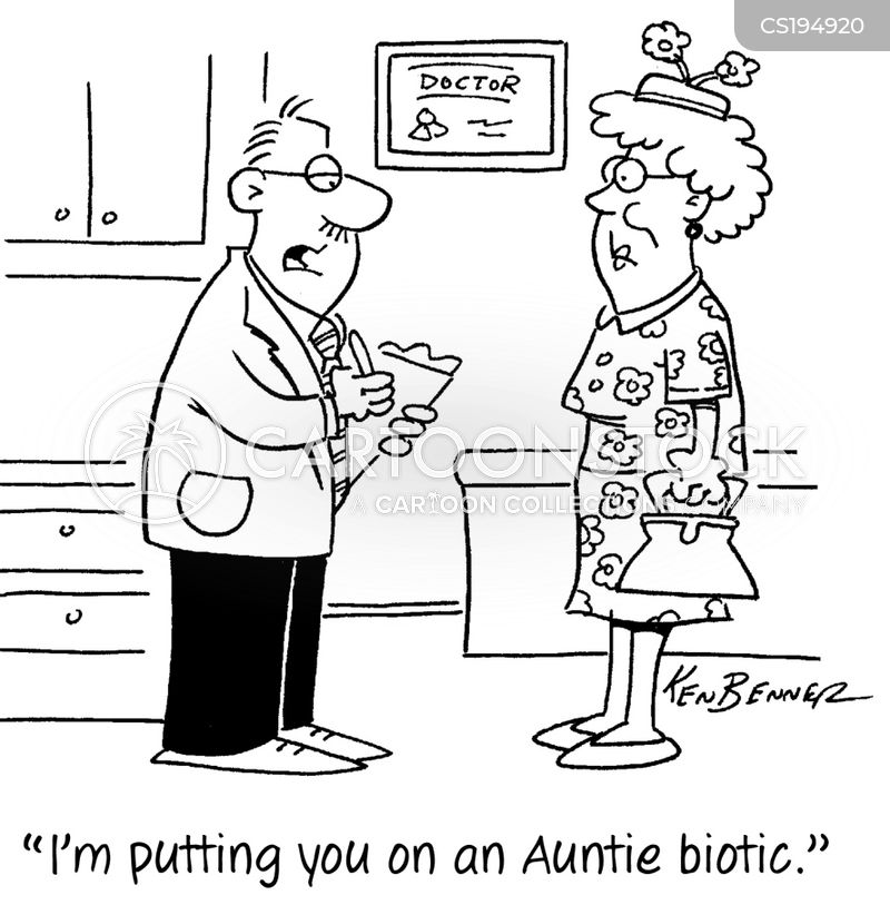 aunts cartoon