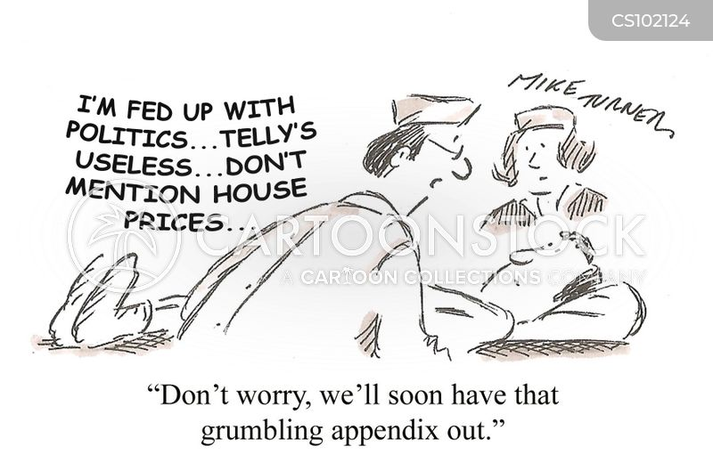 Appendicitis Cartoons and Comics - funny pictures from