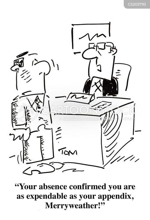 absence cartoon