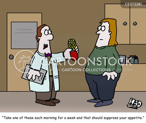 appetite suppressants cartoon