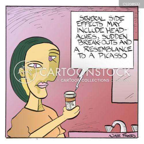 pablo picasso cartoon