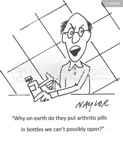 arthritis cartoon