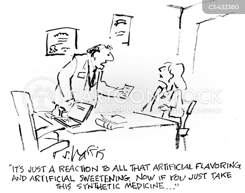 sweeteners cartoon