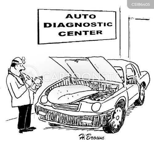 mechanical cartoon