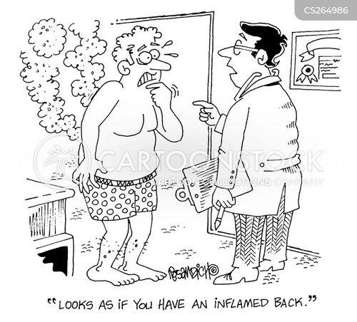 osteopath cartoon