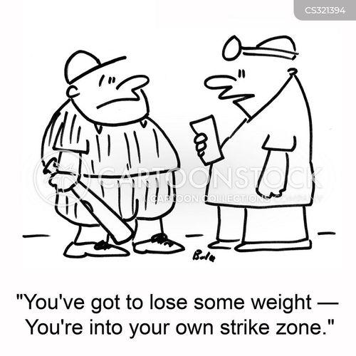strike zone cartoon