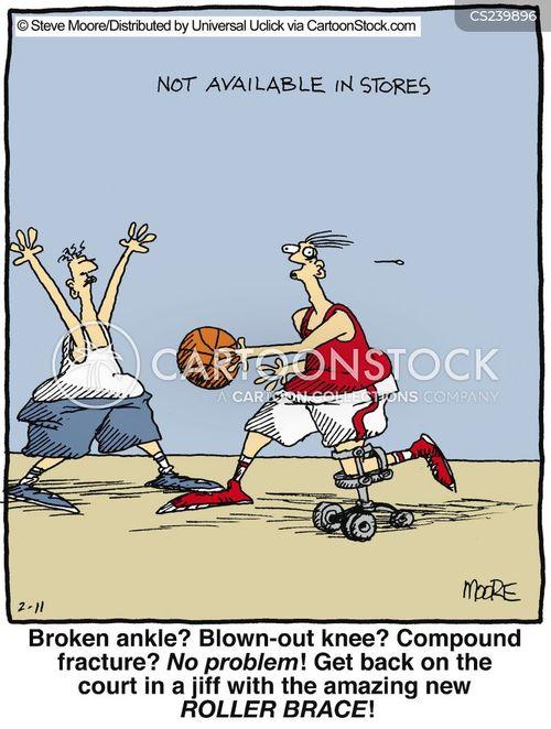 injuring cartoon