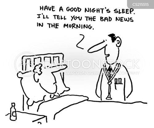 restlessness cartoon