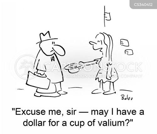 valium cartoon