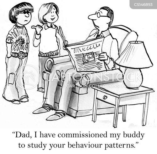 behavioral cartoon
