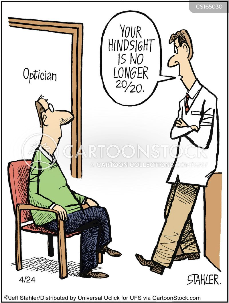 hindsight cartoon