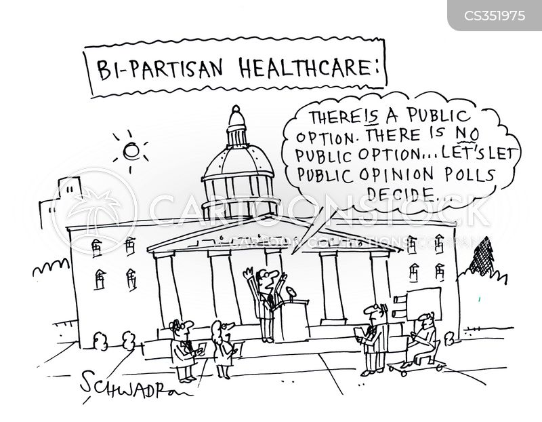 public option cartoon
