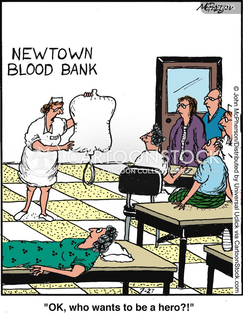 donor cartoon