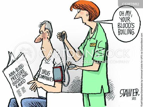 drug company cartoon