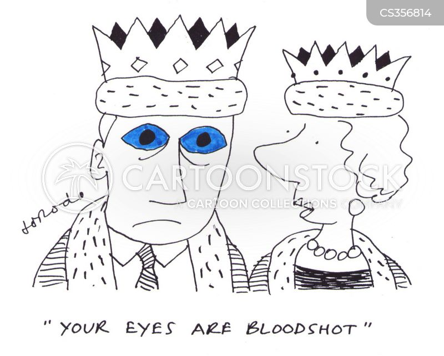 bloodshot eye cartoon