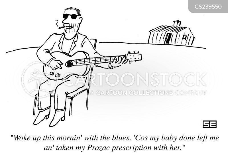 Blues Singer Cartoon 22 Of 29