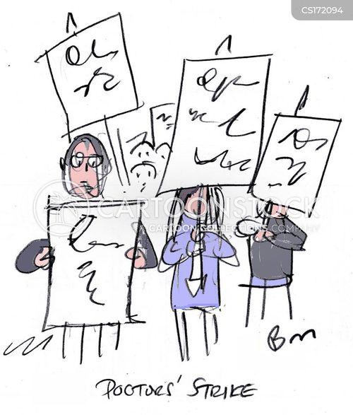 strikes cartoon