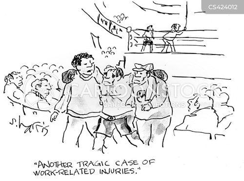 workplace hazard cartoon