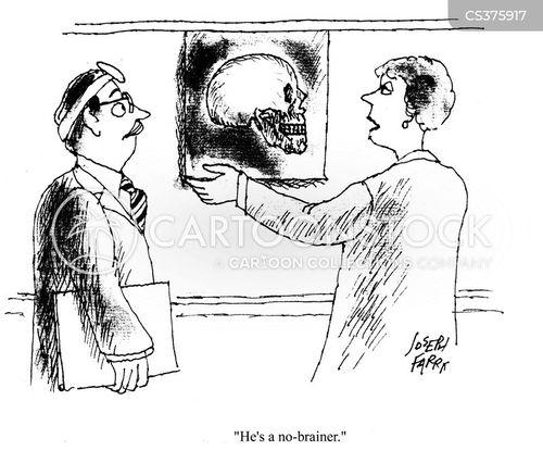no brainer cartoon