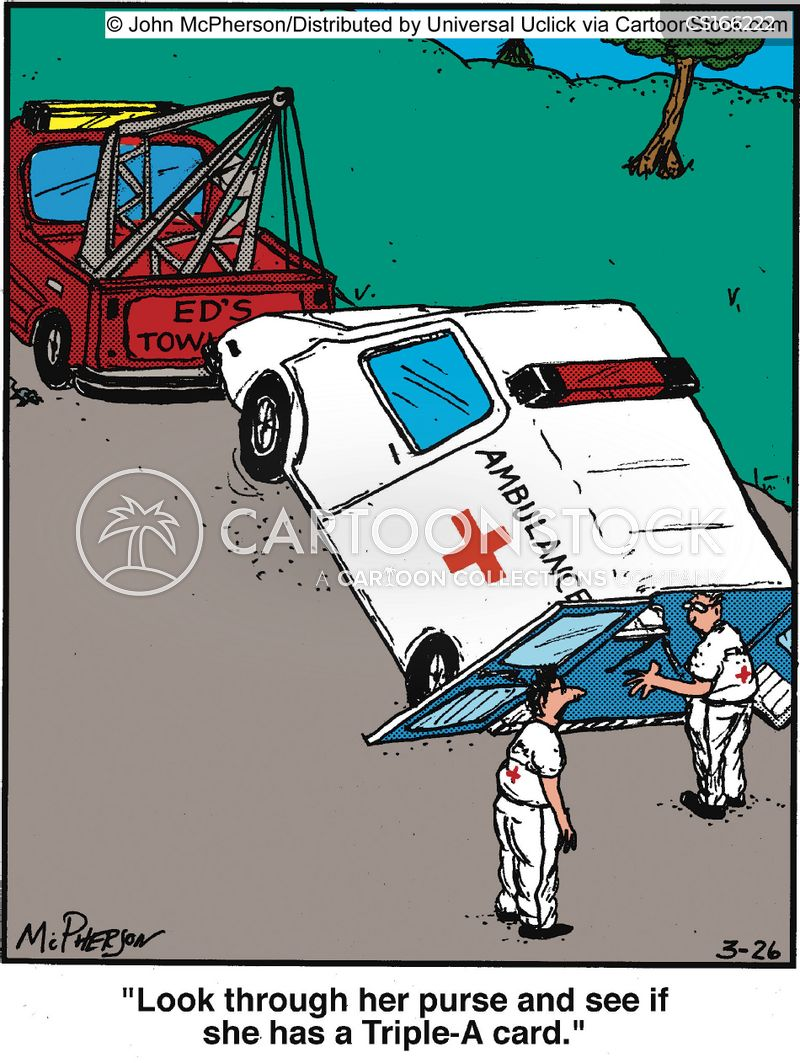 paramedics cartoon